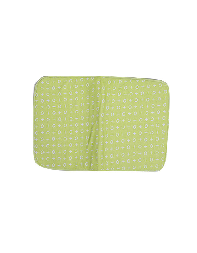 Baby Changing Sheet Green Symbols Z Cs 02 19 Online In