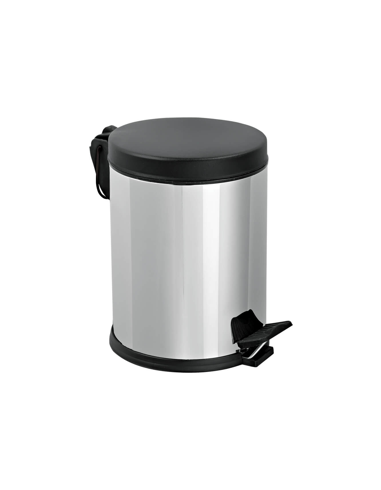 Pedal Dust Bin With Plastic Cover 5lt