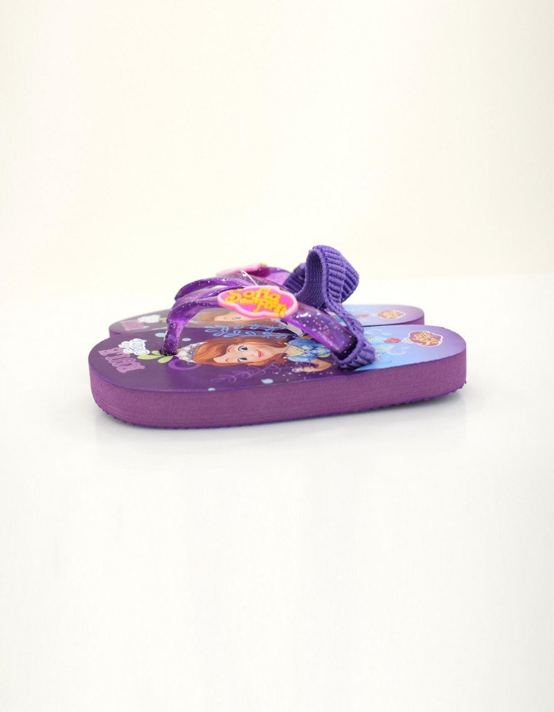 Slippers Princess For Girls Purple 20 25 Pvc Material